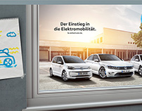 Electric Volkswagen Fleet!