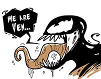 We are Ven... om nom nom!