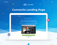 Landing Page for FB marketing tool