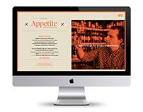 Appetite Guide - Website Design