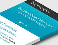 Denison Pharmaceuticals branding + web design