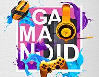 Разработка имиджевого плаката для Gamanoid