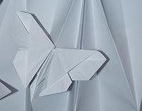 Folded Paper Dress