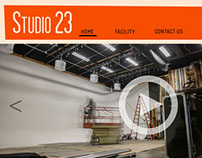 Web design - Studio 23, media production