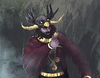 Shaman Rap character design concept