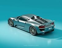 CGI Porsche 918 Spyder