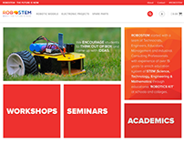 RoboStem - e commerce website for  Electronics Projects