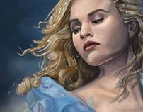 Cinderella 2015 Digital Painting