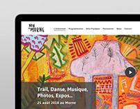 Nou Le Morne - Website Design