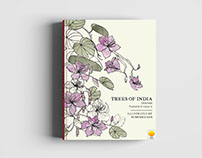 Trees of India Adult Colouring Book