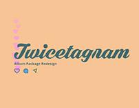 Twicetagram: Album Package Redesign