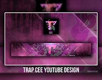 Trap Cee   Youtube Design   Banner & AI