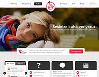Kadınlar Ses Getiriyor Micro Website, 2014