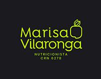 Identidade Visual - Nutricionista Marisa Vilaronga