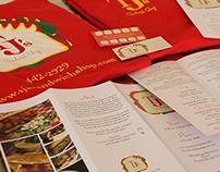 Restaurant Branding: TJ's Sandwich Shop
