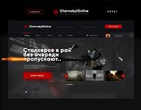 Веб-Дизайн для проекта ChernobylOnline