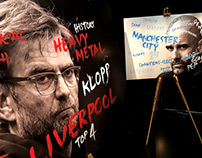 Liverpool v Man City Premier League TV promo artwork