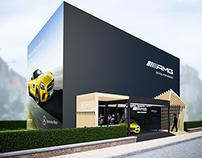 Mercedes-Benz AMG Summer Pop-Up Store @ Knokke