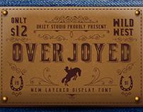 Overjoyed Layered Typeface