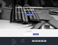 Leather Goods Club Manufacturing Launchpad.