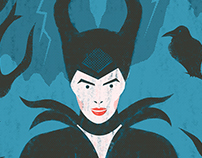 Illustration | Maleficent (Don´t believe in fairy tale)