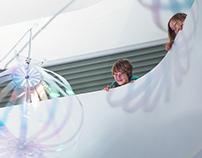 Inno Bubbles - An Interactive Installation