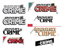 Adventures in Crime Title Treatments