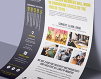 Collateral design for Grindstone Coworking