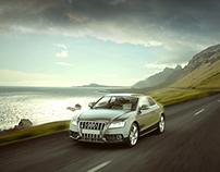 The Audi A5 Print Ad