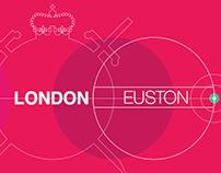 London Underground | Rail Station Panels