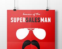Beware of the Specsman // Supersalesman promo posters