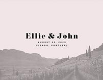 Ellie & John Wedding Booklet
