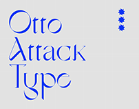 Otto Attack Type — free font