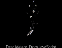 Poster : dear meteor from javascript