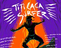 Titicaca surfer