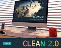 Clean 2.0 Powerpoint template