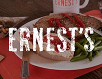 Ernest's Restaurant Branding