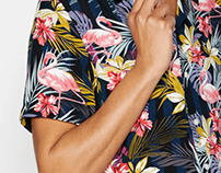 SS20 Shirt Print Design -Menswear Young Fashion