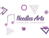 Needles Arts - Logo Design