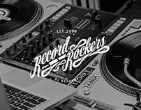 Record Rockers DJ Academy - Branding and Identity