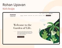 Rohan Upavan Website Design