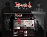 Dracula official website
