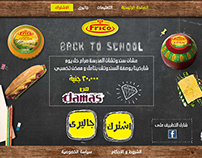 Frico Back to School Micro Website