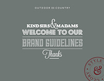 Outdoor and Country. Branding.