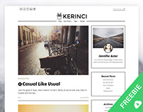 Kerinci Free WordPress Theme