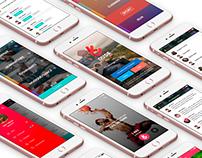 UX UI APP - Dude Challenge & Branding
