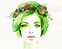 Warecolor portraits