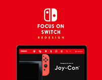 FOCUS ON SWITCH / Redesign UI