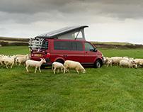 Food photography Camper van style