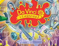 Sticker designs for Da Vinci Media